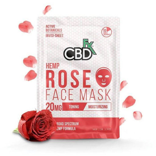 CBDfx Rose Hemp Face Mask