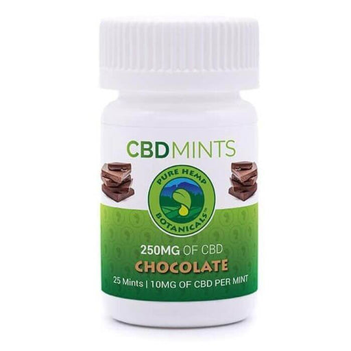 Pure Hemp Botanicals Chocolate CBD Mints