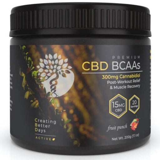 Creating Better Days CBD BCAAs Post Workout Relief
