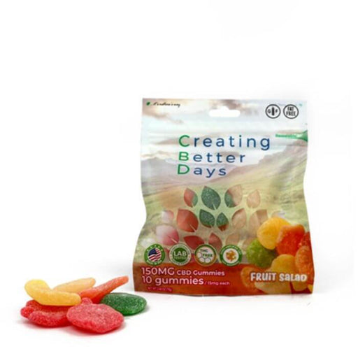 Creating Better Days Nano CBD Fruit Salad Gummies