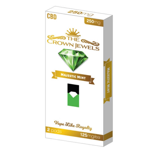 Fusion Brands Crown Jewels Majestic Mint CBD Pod
