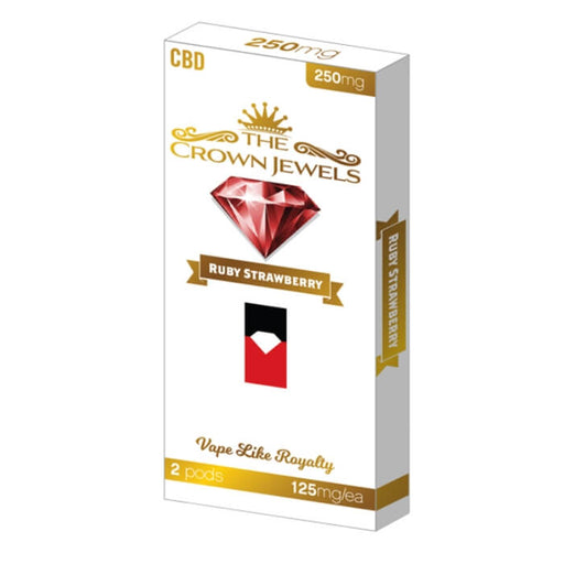 Fusion Brands Crown Jewels Ruby Strawberry CBD Pod