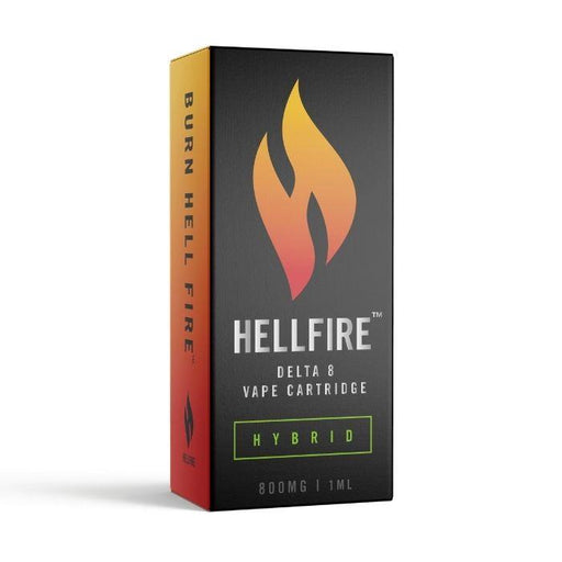 Delta 8 CBD Vape Cartridge by Hellfire