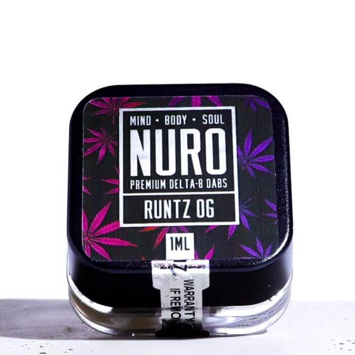Delta 8 Dab Concentrate by NURO