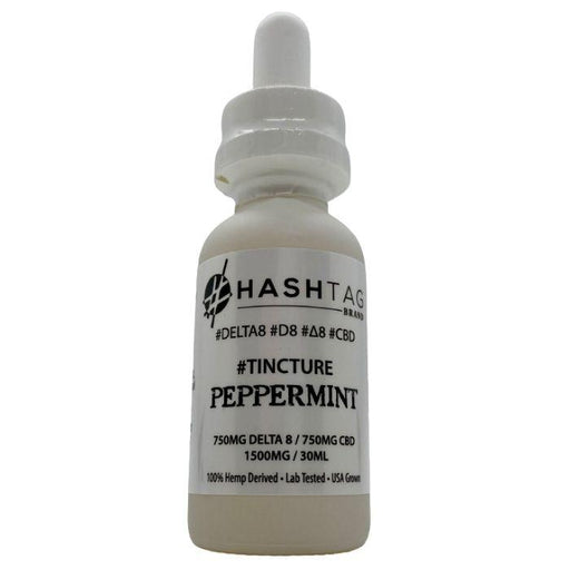 Delta 8 Full Spectrum CBD Tinctures by Hashtag Brand
