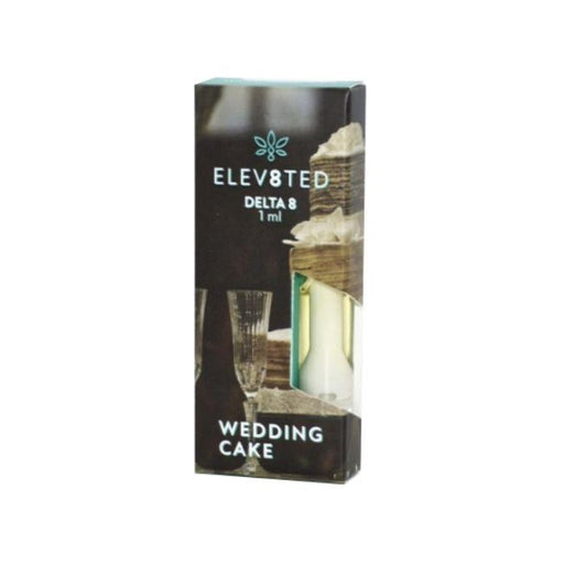Delta 8 Wedding Cake CBD Cartridge by Elev8ted Labs
