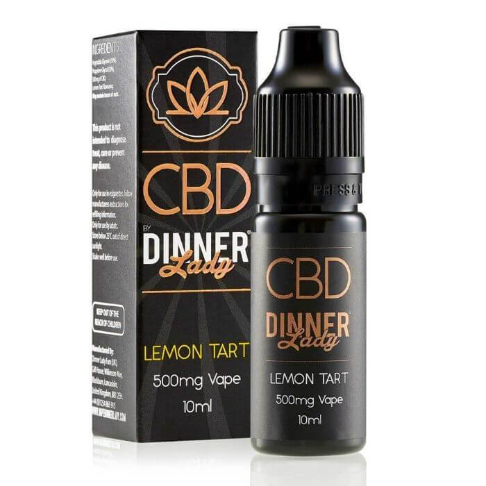 Dinner Lady CBD Lemon Tart Vape Juice