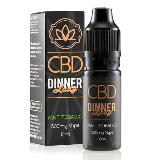 Dinner Lady CBD Mint Tobacco Vape Juice