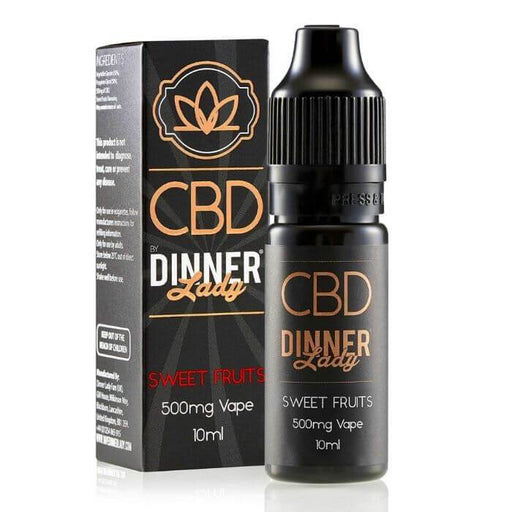 Dinner Lady CBD Sweet Fruits Vape Juice