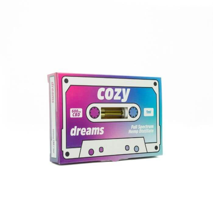 Cozy CBD Dreams CBD Cartridge