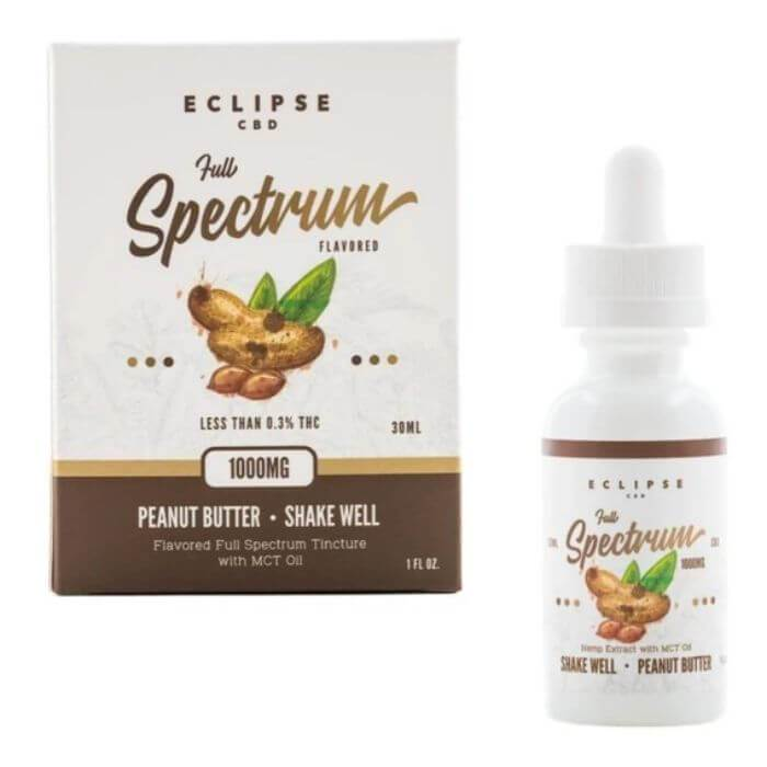 Eclipse CBD Peanut Butter Full Spectrum Tincture