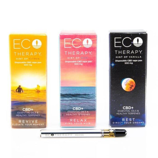 Eco Therapy CBD Disposable Vape Pen Bundle
