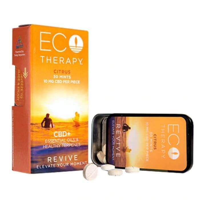 Eco Therapy CBD Revive Mints