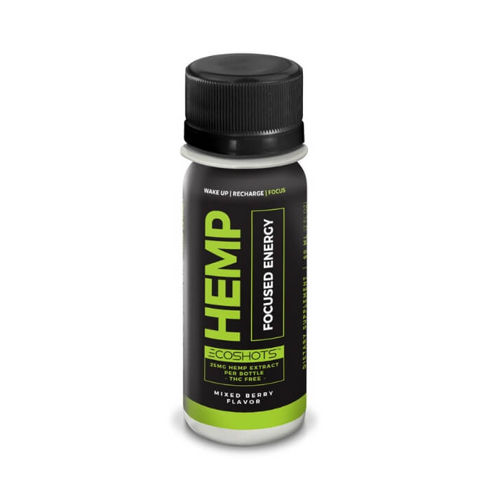 Eco Sciences Eco Shot CBD Energy & Hemp Energy Shot