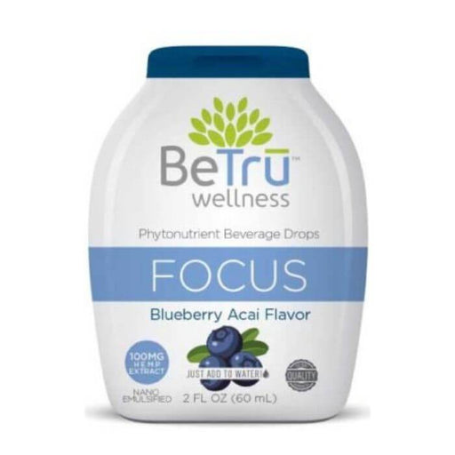 Be Tru Wellness Focus CBD Beverage Drops