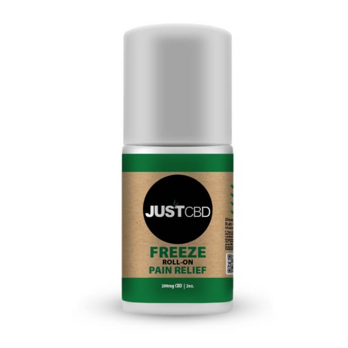 JustCBD Freeze CBD Roll On Pain Cream