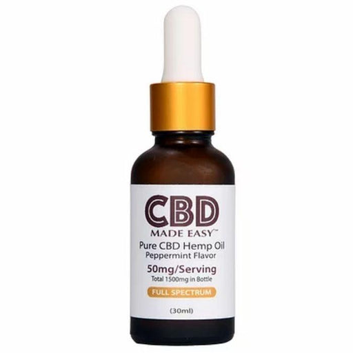 Full Spectrum CBD Hemp Oil by CBD Made Easy