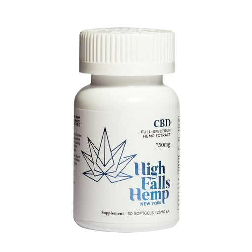 Full Spectrum CBD Softgels by High Falls Hemp New York