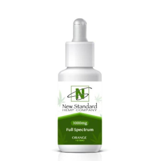Full Spectrum CBD Tincture by New Standard Hemp Company