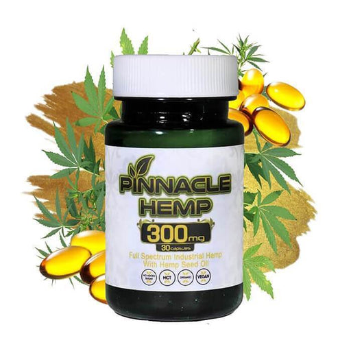 Pinnacle Hemp Full Spectrum CBD Capsules