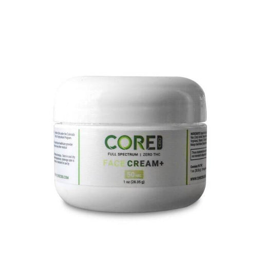Core CBD Full Spectrum CBD Face Cream