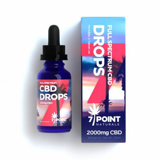 Full Spectrum CBD Oil Drops by 7 Point Naturals CBD