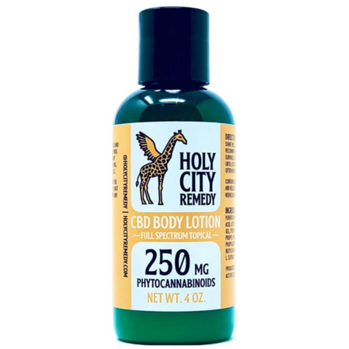 Holy City Remedy Full Spectrum Topical CBD Body Lotion