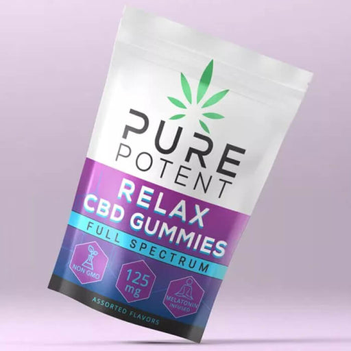 Relax CBD Gummies by Pure Potent