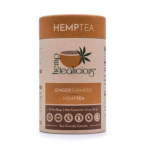Pure Hemp Botanicals Ginger Turmeric Pure Hemp Tea