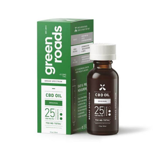 Green Roads CBD Original Broad Spectrum Oil