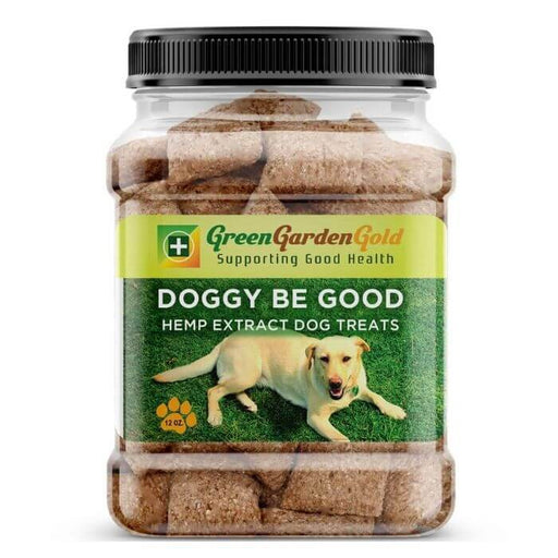 Green Garden Gold CBD Doggy Be Good Oil Treats
