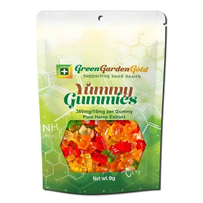Green Garden Gold CBD Mixed Gummies