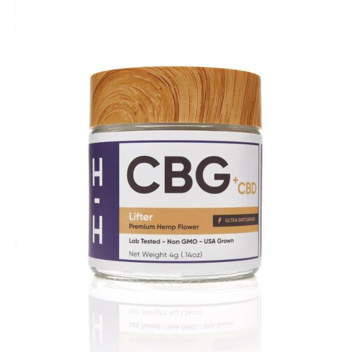 HHemp CBD CBG Lifter Hemp Flower