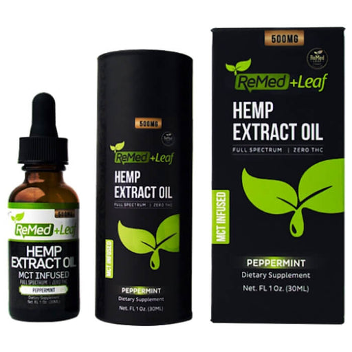 ReMed Leaf Hemp Extract CBD Oil