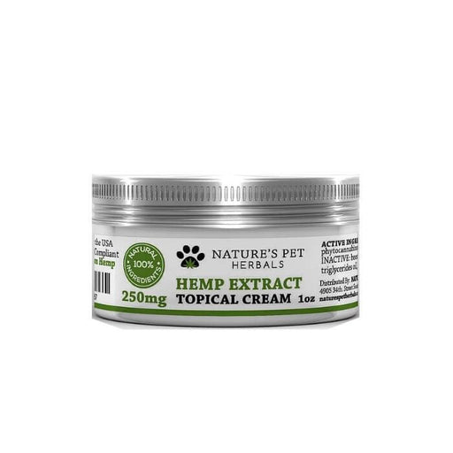 Nature's Pet Herbals Hemp Extract CBD Topical Cream