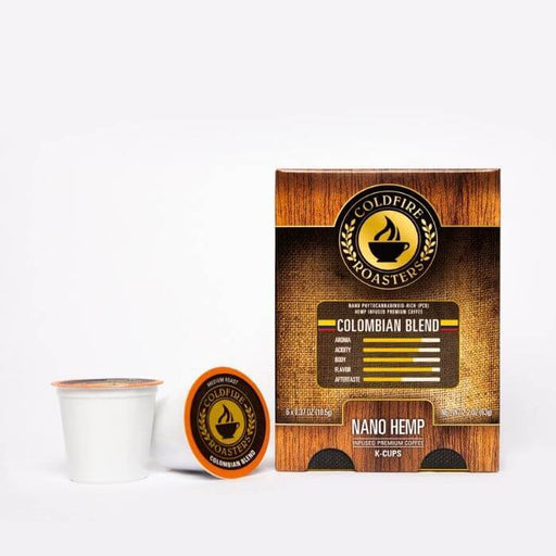Coldfire Roasters CBD Hemp Infused Colombian CBD K-Cups