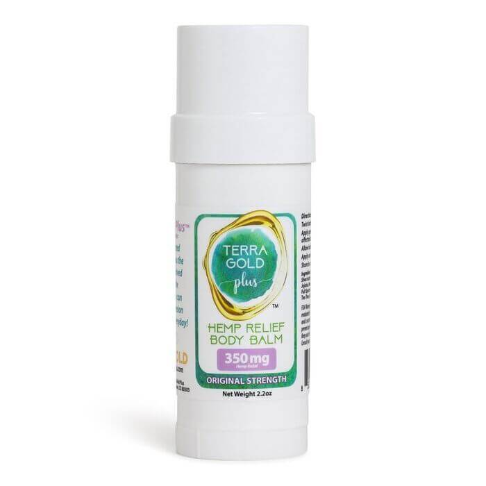 TerraGold Plus CBD Hemp Relief CBD Body Balm