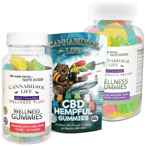 Hempful CBD Gummy Bears by Cannabidiol Life