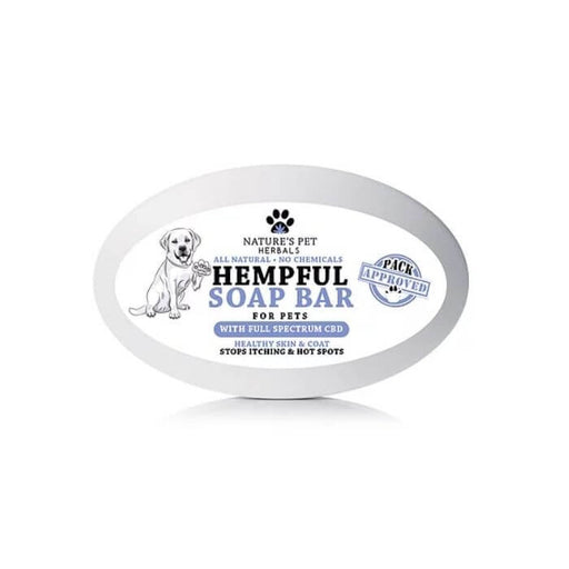 Nature's Pet Herbals Hempful Soap Bar For Pets