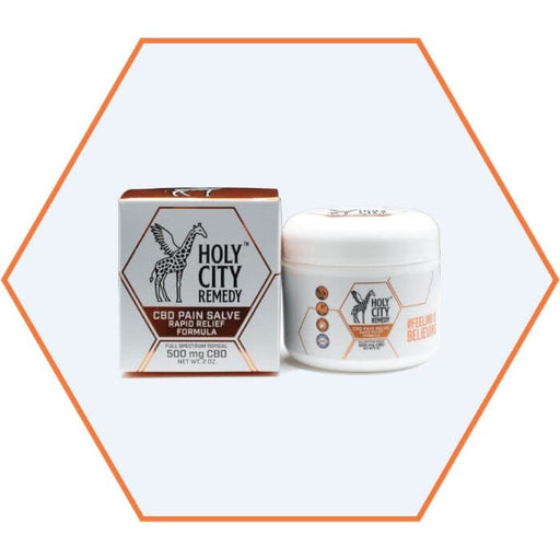 Holy City Remedy Rapid Relief Formula CBD Pain Salve