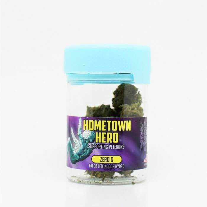 Hometown Hero CBD Hemp Flower Zero G