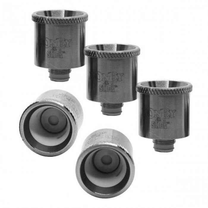 Honey Stick Extreme Atomizer Replacement Ceramic Bowl Coil (5-pack)