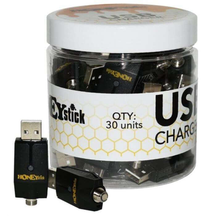 Honey Stick USB Chargers Jar