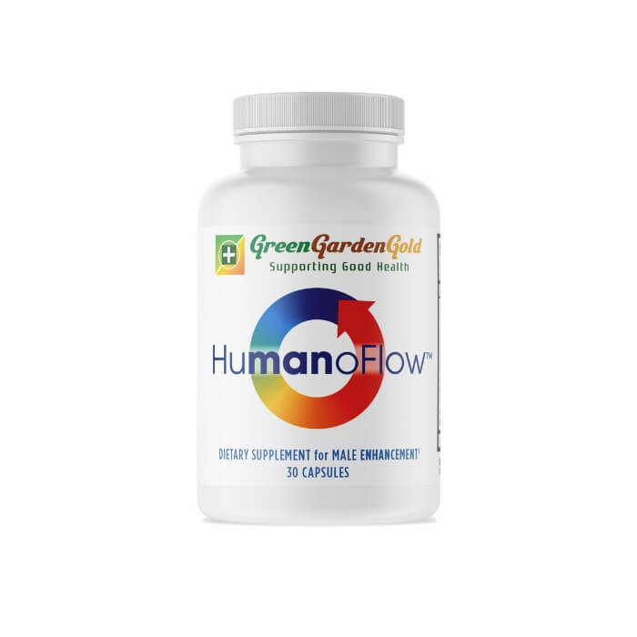 HumanoFlow Men Capsules by Green Garden Gold