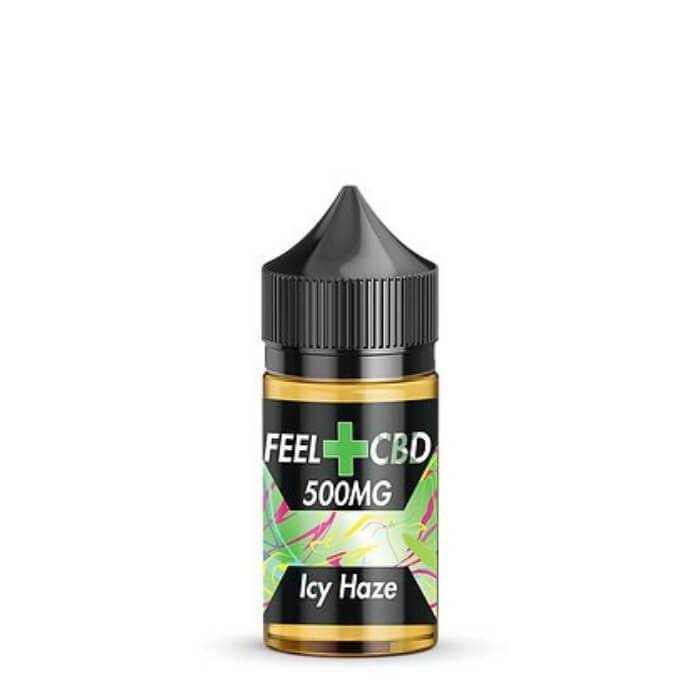 Icy Haze CBD Vape Juice by Feel CBD