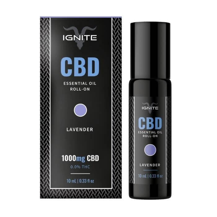 Ignite CBD Lavender Roll On Oil
