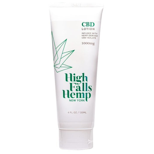 Isolate CBD Lotion by High Falls Hemp New York