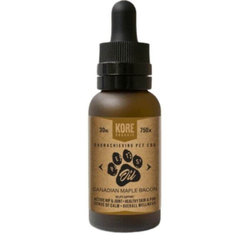 Kore Organic Canadian Maple Bacon CBD Pet Tincture