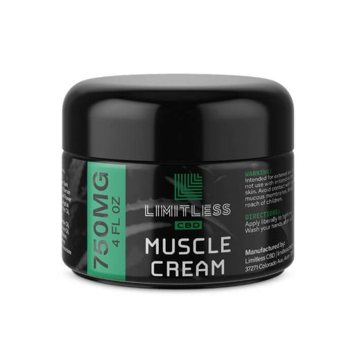 Limitless CBD Infused Muscle Cream