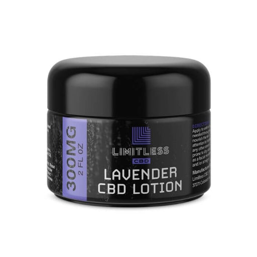Limitless CBD Lavender Revive Lotion